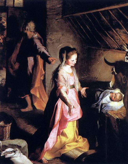 BAROCCI Federico Fiori The Nativity. The Italian artists