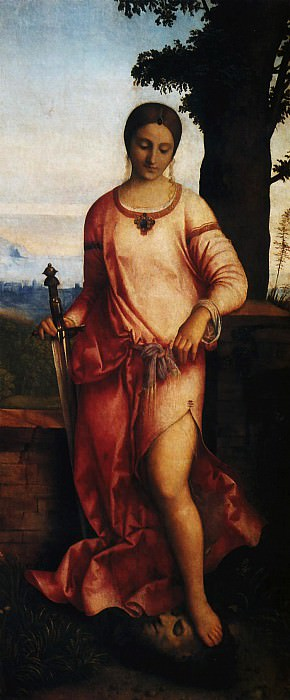 Giorgio da Castelfranco called Giorgione Judith. Итальянские художники