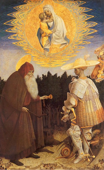Pisanello (Italian, 1395-1455) 6. The Italian artists