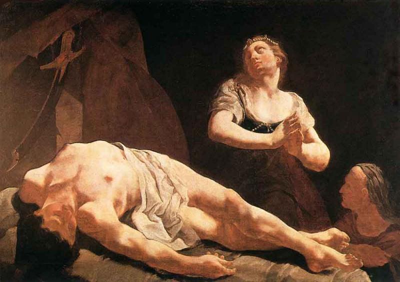 LAMA Giulia Judith And Holofernes. The Italian artists