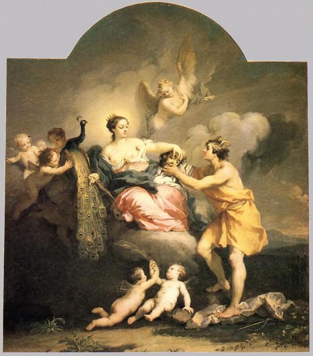 Juno Receiving the Fead of Argos WGA. Итальянские художники