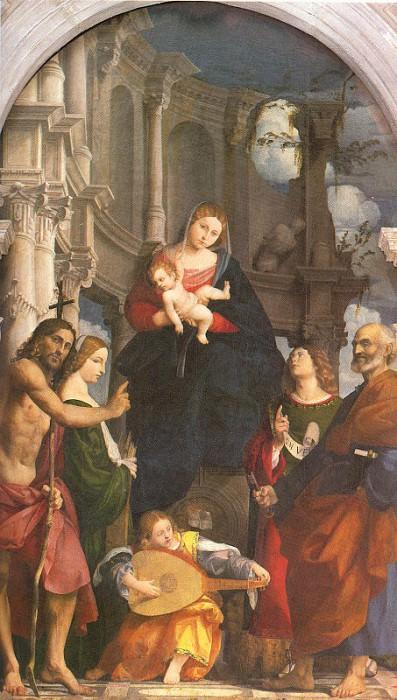 Pordenone (Italian, 1483-1539) 2. Итальянские художники