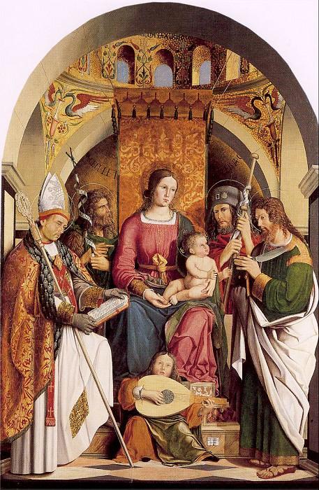 Marziale, Marco (Italian, active 1492-1507) marziale1. Итальянские художники