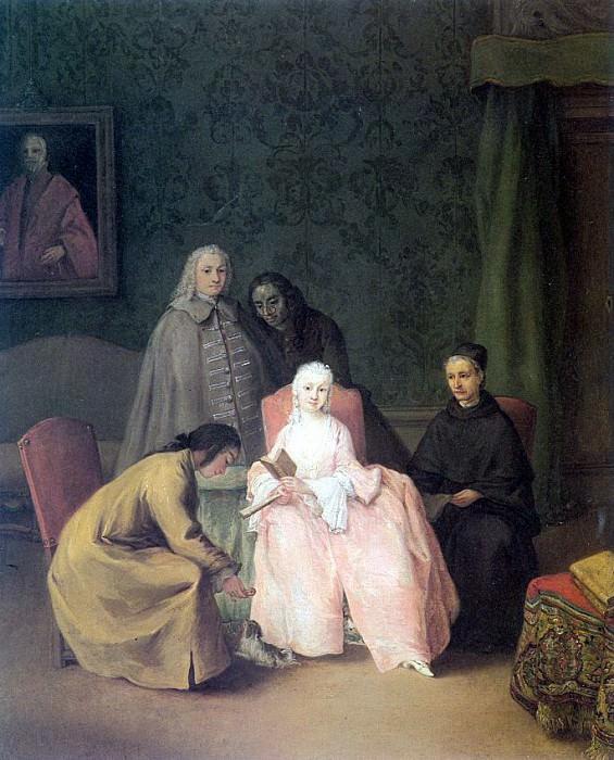Longhi, Pietro (Italian, 1702-1785). The Italian artists