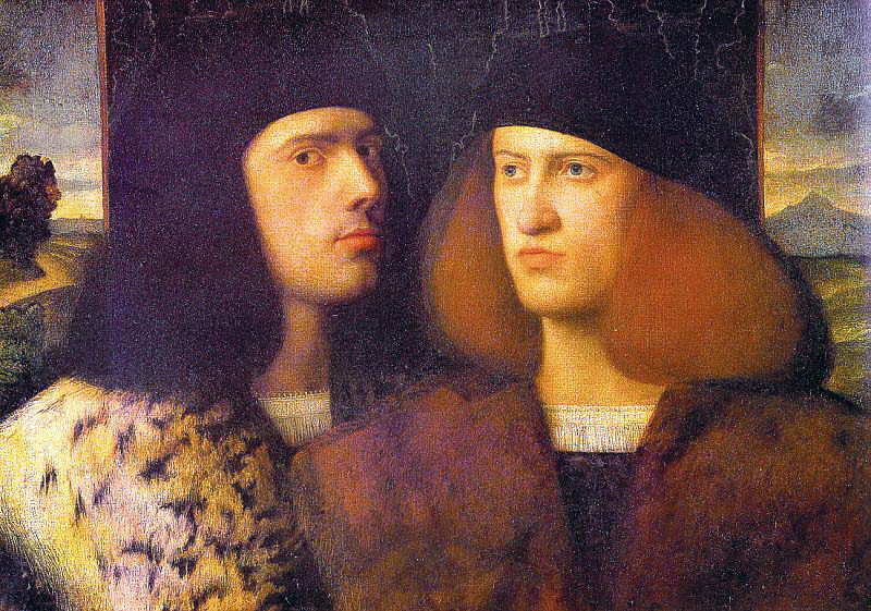 Cariani, Giovanni (Italian, approx. 1480-1547). The Italian artists