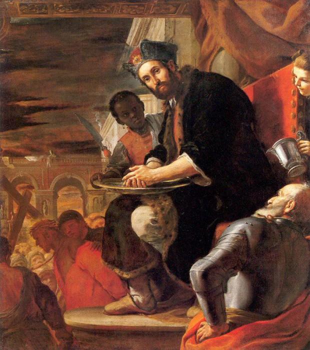 Preti, Mattia (Italian, 1613-99) 6. The Italian artists