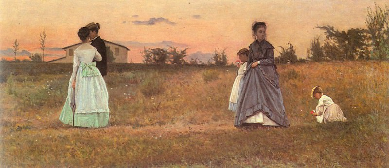 Lega, Sylvestro (Italian, 1826-1895) lega2. The Italian artists