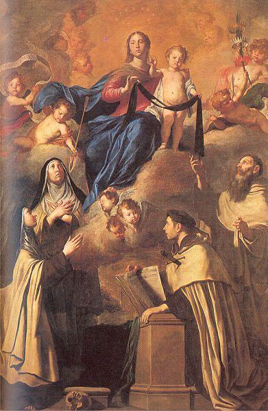 Novelli, Pietro (Italian, 1603-47). The Italian artists