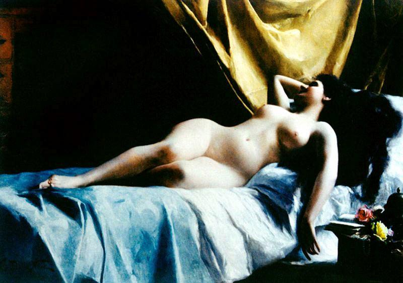 Noce G. Dalla Nu feminino. The Italian artists