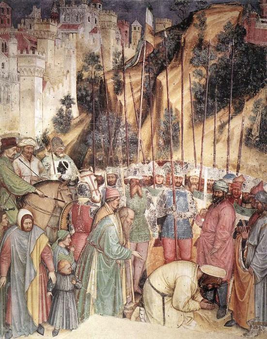 ALTICHIERO da Zevio The Execution Of Saint George. The Italian artists