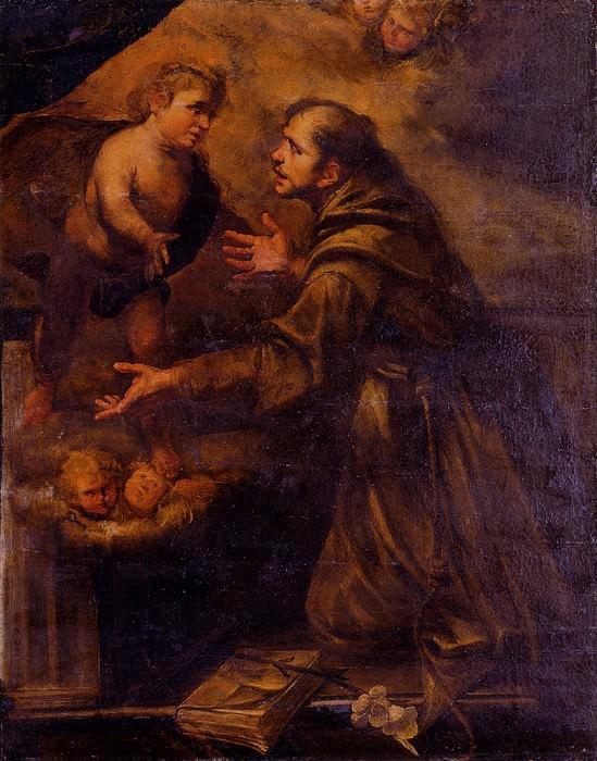 Assereto Gioacchino Saint Anthony. The Italian artists