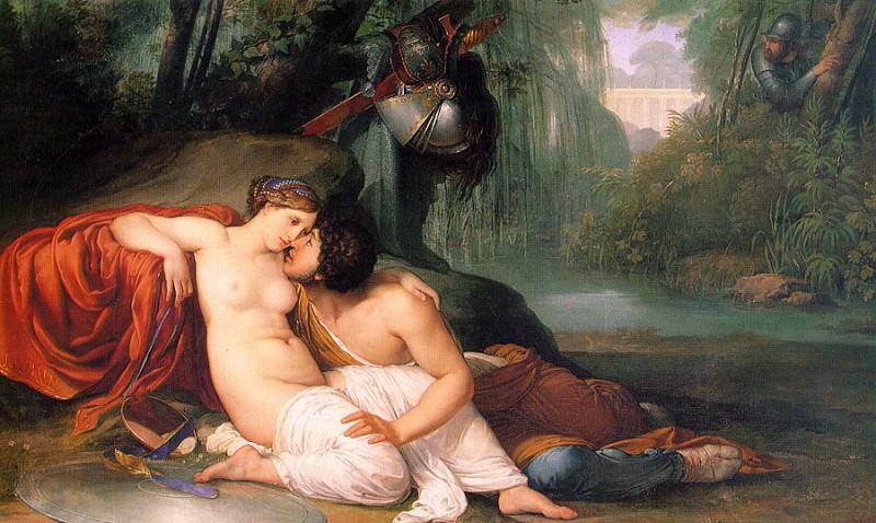 Hayez, Francesco (Italian, 1791-1882). The Italian artists