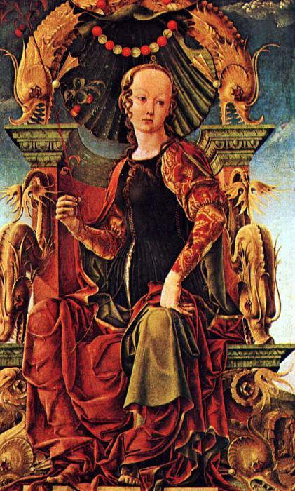 Tura, Cosimo (Italian, 1430-95). Итальянские художники