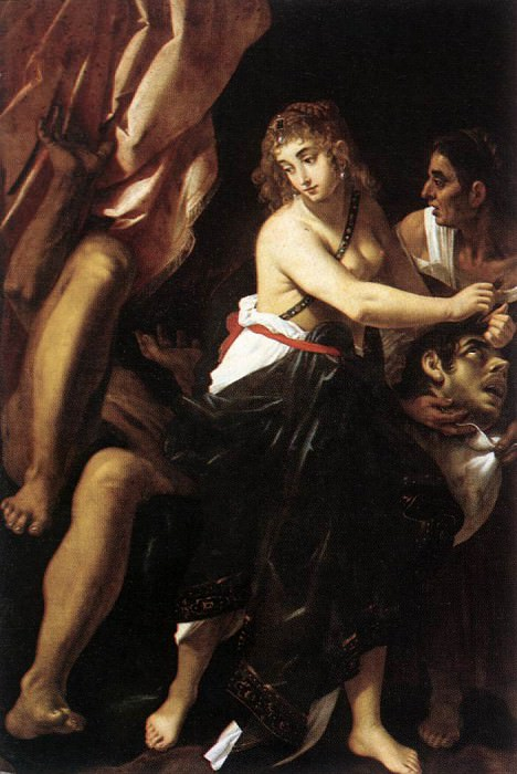BAGLIONE Giovanni Judith And The Head Of Holofernes. The Italian artists