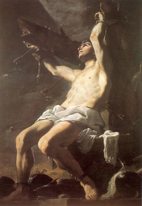 Preti, Mattia (Italian, 1613-99) 5. The Italian artists