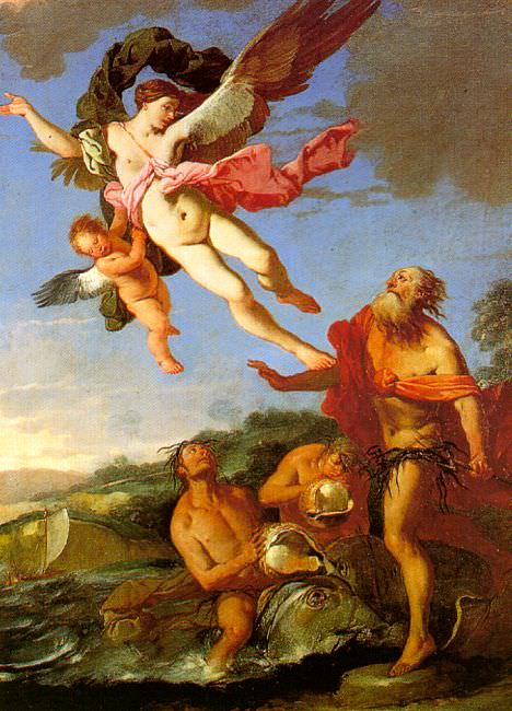 Carpioni, Giulio (Italian, 1613-1679). Итальянские художники