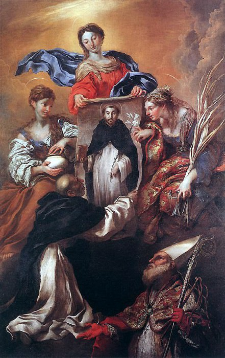 CASTIGLIONE Giovanni Benedetto The Miracle Of Soriano. The Italian artists