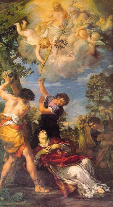 Cortona, Pietro da (Pietro Berrettini, Italian, 1596-1669). The Italian artists