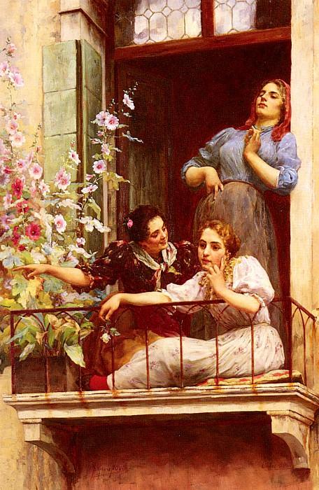 Novo Stefano The Gossips. The Italian artists