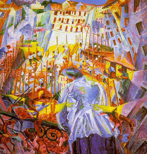 Умберто Боччони (итальянец, 1882-1916). Итальянские художники