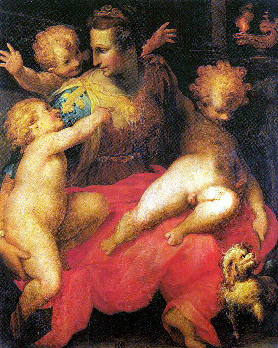 Poppi, Francesco Morandini da (Italian, 1544-1597). Итальянские художники
