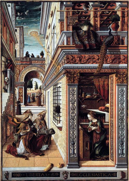 Crivelli, Carlo (Italian, approx. 1430-1495) crivell2. The Italian artists