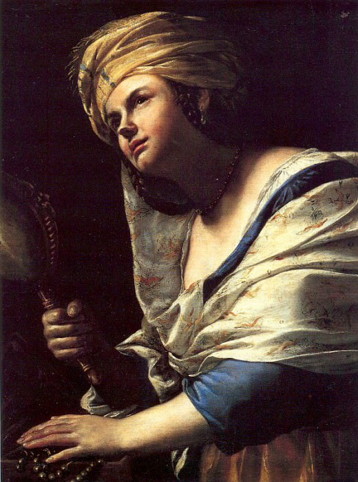 Preti, Mattia (Italian, 1613-99) 2. The Italian artists