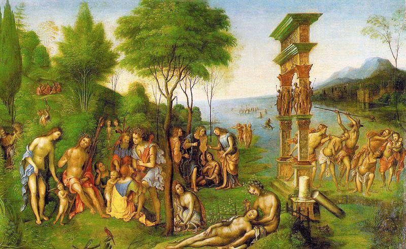 Costa, Lorenzo (Italian, 1460-1535) costa4. The Italian artists