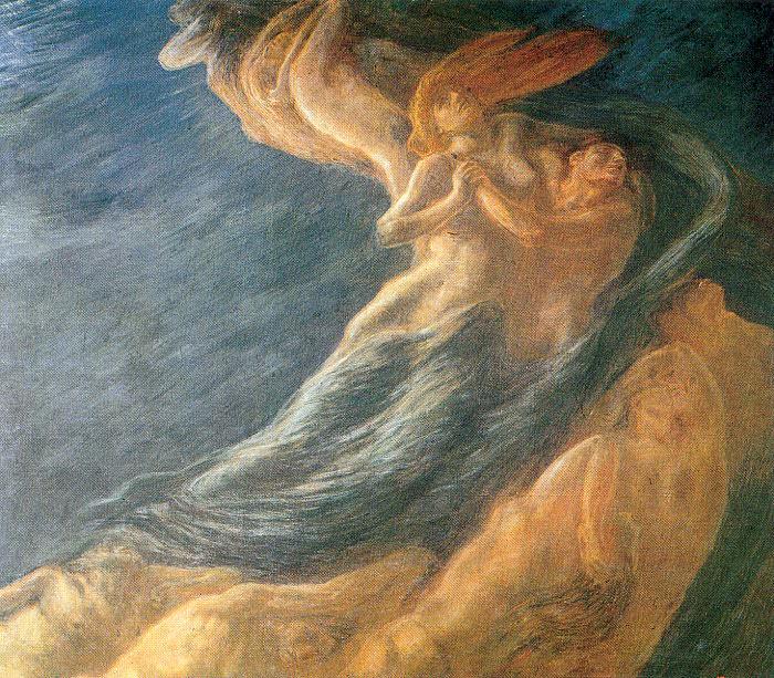 Previati, Gaetano (Italian, 1852-1920). The Italian artists