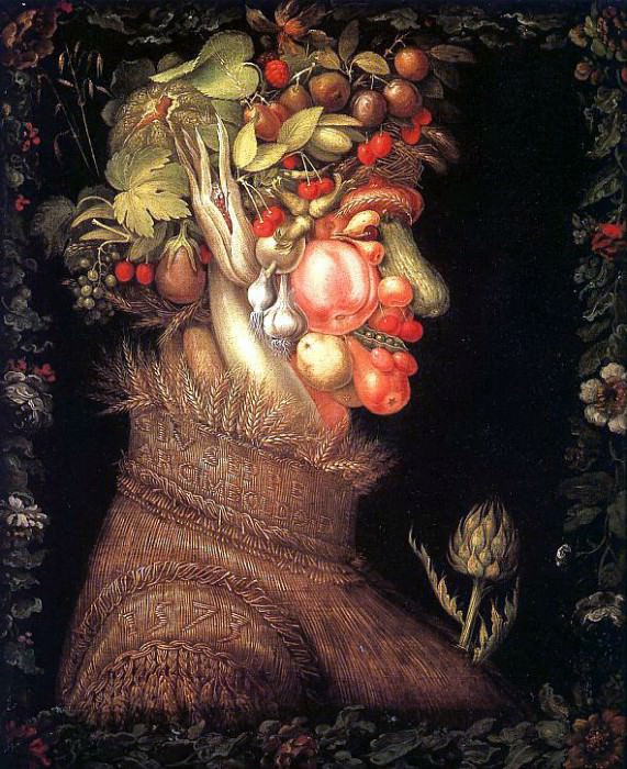 Arcimboldo, Giuseppe (Italian, approx. 1530-1593). The Italian artists