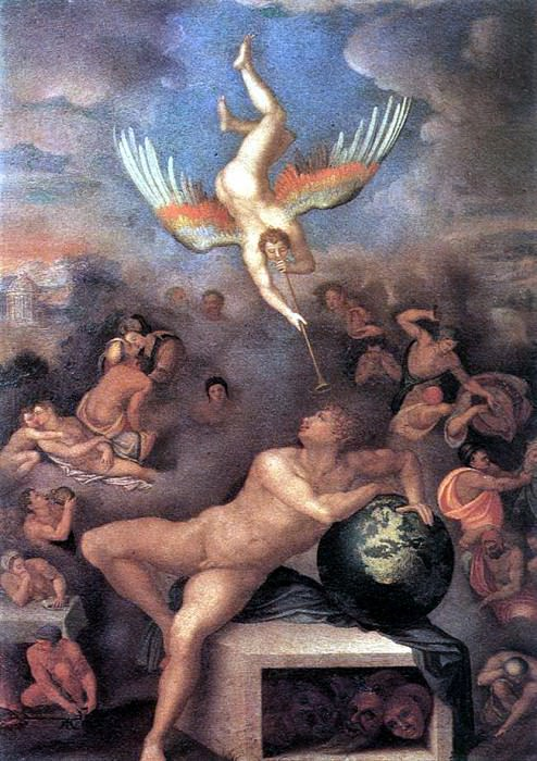 ALLORI Alessandro Allegory Of Human Life. The Italian artists
