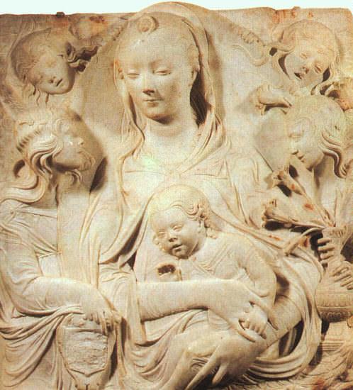 Duccio, Agostino dAntonio di (Italian, 1418-1481). The Italian artists
