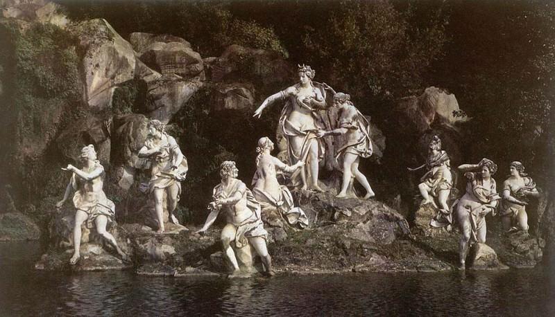 VANVITELLI Luigi Diana And Acteon. The Italian artists