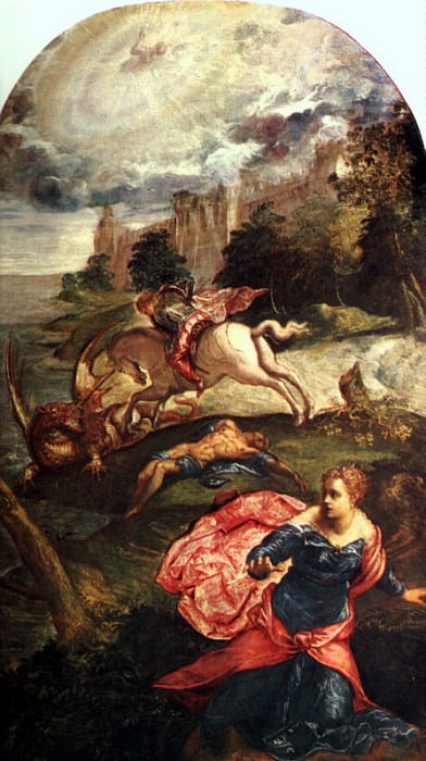 Tintoretto, Jacopo Robusti (Italian, 1518-1594) 3. The Italian artists