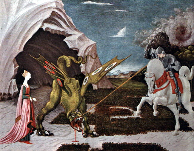 Ucello, Paolo (or Uccello, Italian, 1395-1475). The Italian artists