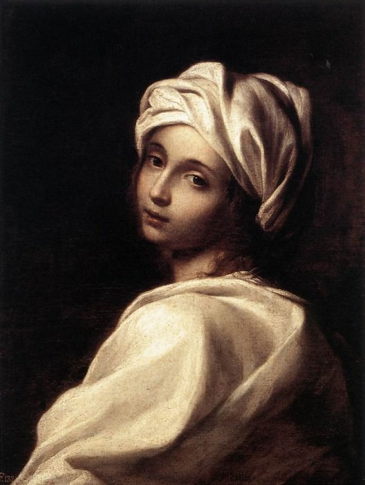SIRANI Elisabetta Portrait Of Beatrice Cenci. The Italian artists