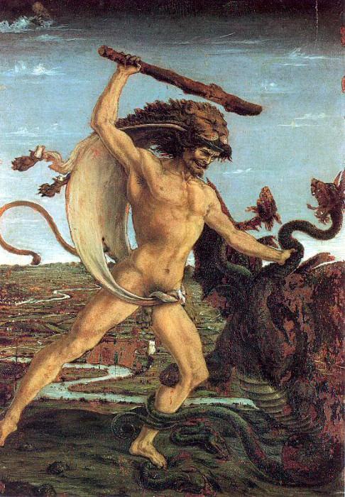 Pollaiuolo, Antonio (Italian, Approx. 1431-1498) 2. The Italian artists