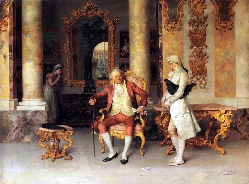 Beda Francesco The Eavesdropper. The Italian artists