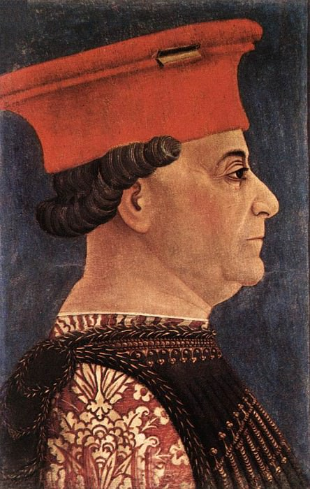 BEMBO Bonifazio Portrait Of Francesco Sforza. Итальянские художники