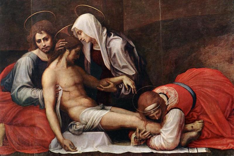 Bartolomeo Fra Deposition c1515. Итальянские художники