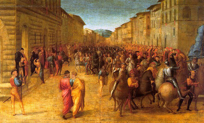 Granacci, Francesco (Italian, 1477-1543). The Italian artists
