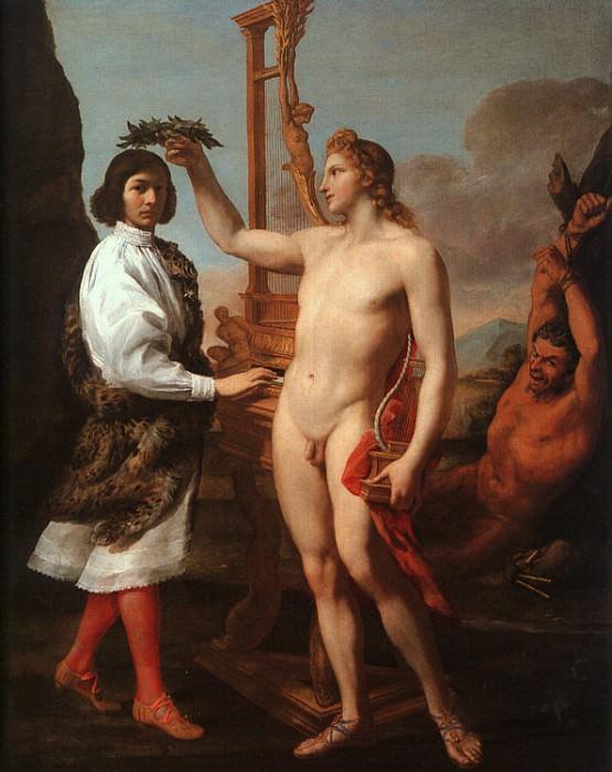 Sacchi, Andrea (Italian, 1559-1661). The Italian artists
