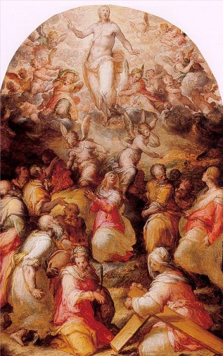Naldini, Giovanni Battista (Italian, 1537-91). The Italian artists