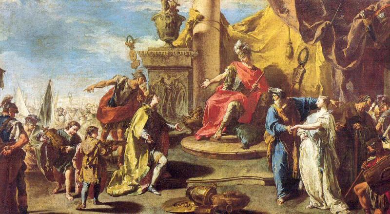 Pittoni, Giambattista (Italian, 1687-1767) 5. The Italian artists