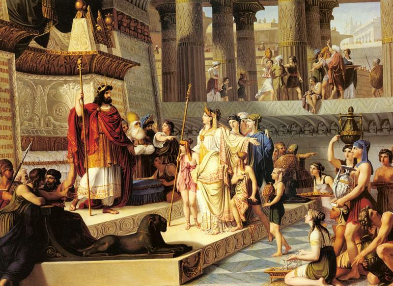 Demin Giovanni Solomon And The Queen Of Sheba. The Italian artists