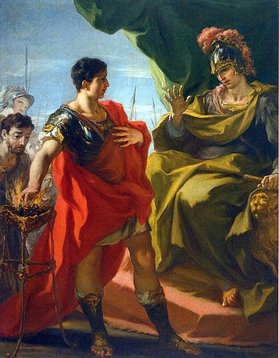 Pellegrini, Giovanni Antonio. The Italian artists (Italian, 1675-1741)