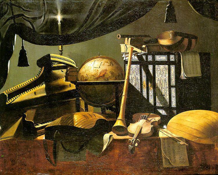Баскенис, Эваристо - Мастерская художника (итальянец, 17 в.). Итальянские художники