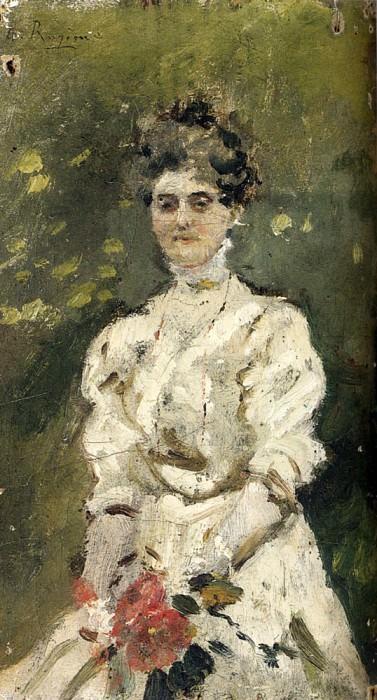Ragione Raffaele Portrait Of A Woman. The Italian artists