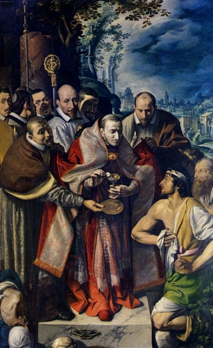 Varallo Tanzio Da St Carlo Borromeo Giving Communion To The Plague Victims. The Italian artists