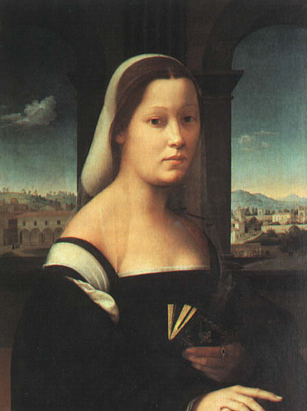 Bugiardini, Giuliano (Italian, 1476-1555) The Nun. The Italian artists